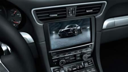 Porsche 911 Black Edition interior