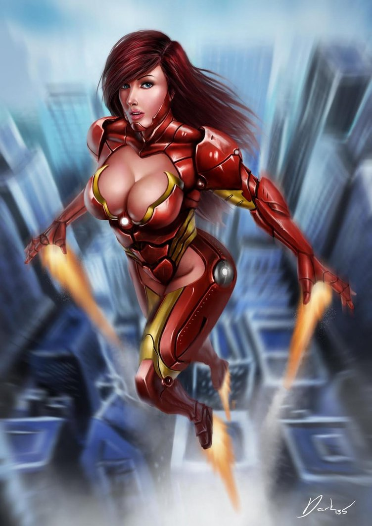 hot girls from iron man