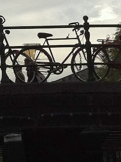 Bike-cycling-Amsterdam-bridge-canal-silhouette