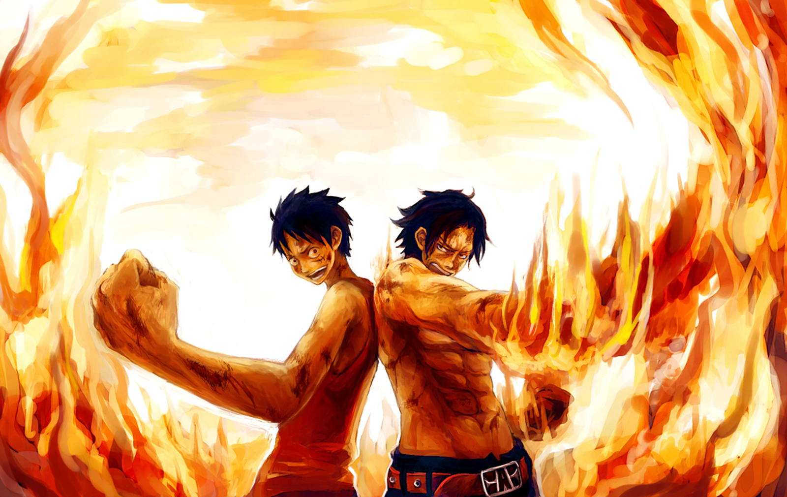 Ace Luffy D Brothers