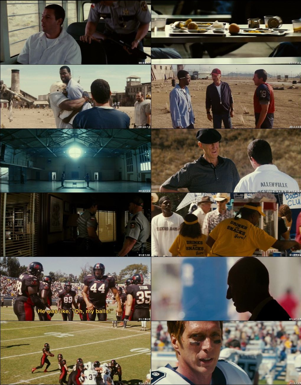 The Longest Yard 2005 Movie Screenshots