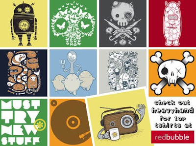 Heavyhand at RedBubble