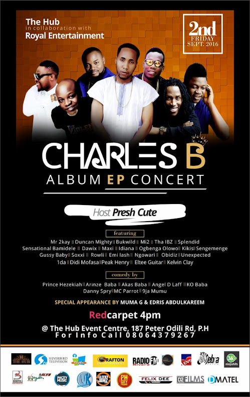 EVENT: Charles B Album EP Concert