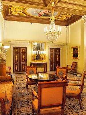 Palacio Real de Amsterdam (Koninklijk Paleis) - Cámara de Justicia
