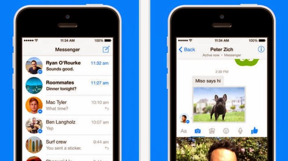 Facebook Messenger Obtiene Mensajeria de Video Instantaneo