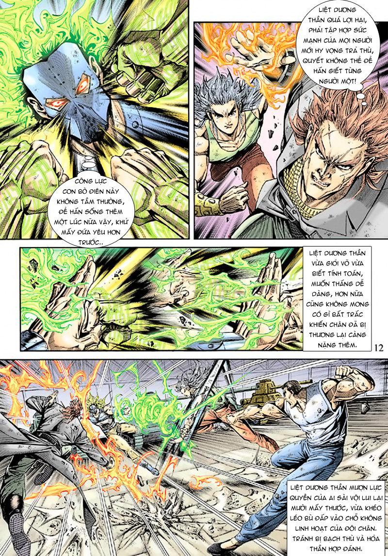 Tân Tác Long Hổ Môn chap 165 - Trang 12