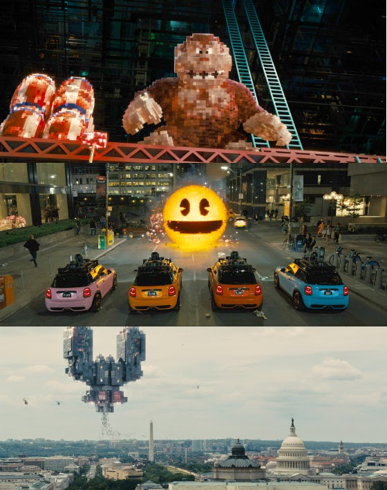 "New images released for ""Pixels."""