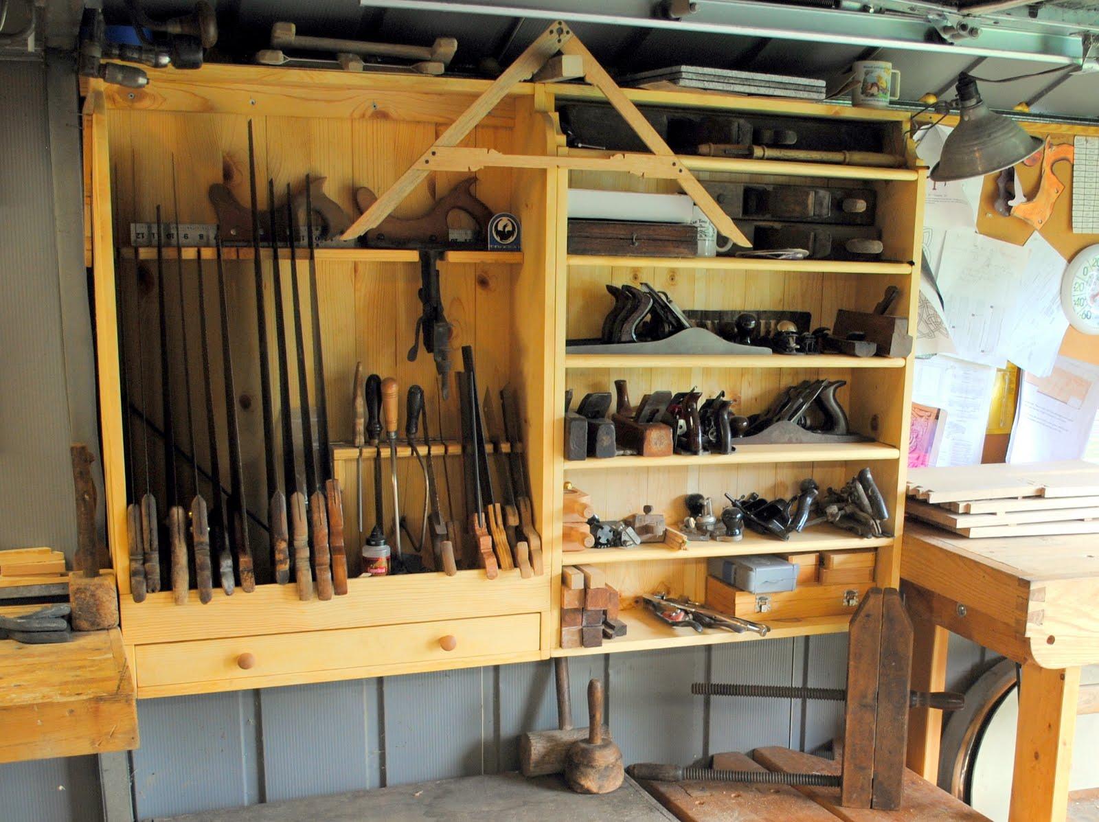 & Final Pictures: Plane Storage Shelf