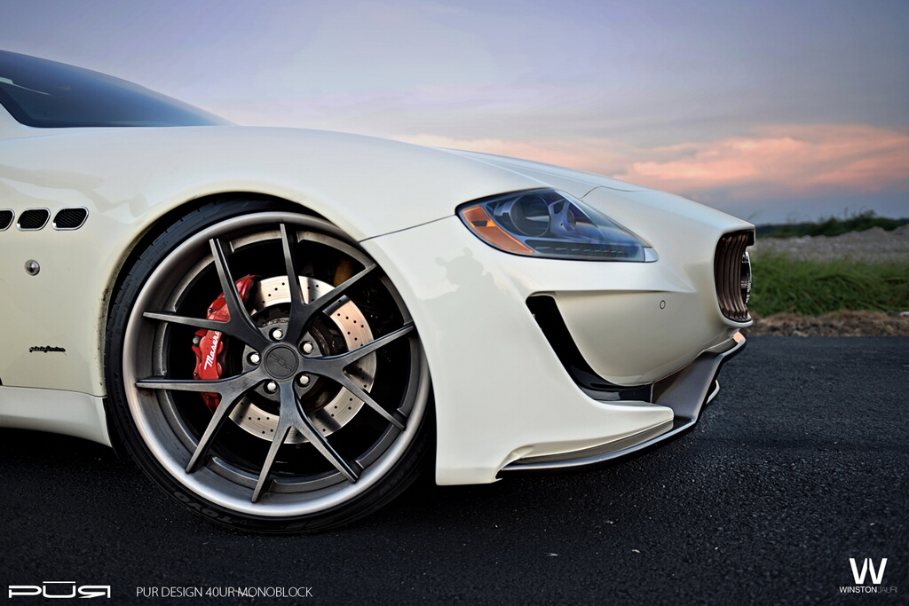 Fairy Design Maserati Quattroporte On Pur Wheels Brand Cars