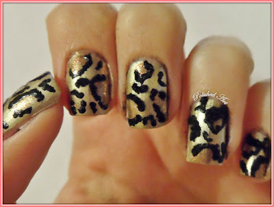 Flip-Flop-Challenge-Day-16-Animal-Print-fuzzy-leopards-flocking-powder-velvet-nails