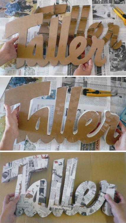 Transformation art letras decorativas - Letras decorativas pared ...