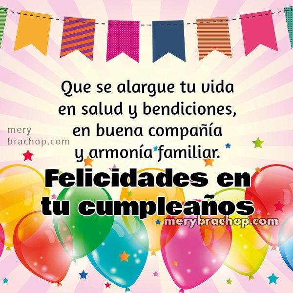Saludo de cumpleaños, mensaje cristiano bonito para amiga, hermana, con imagen de regalo.  Frases lindas para desear buen cumple.