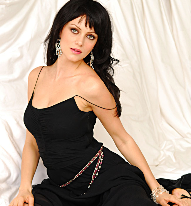 Yana Gupta  - Yana Gupta Hot Pics in Black Dress for Maxim