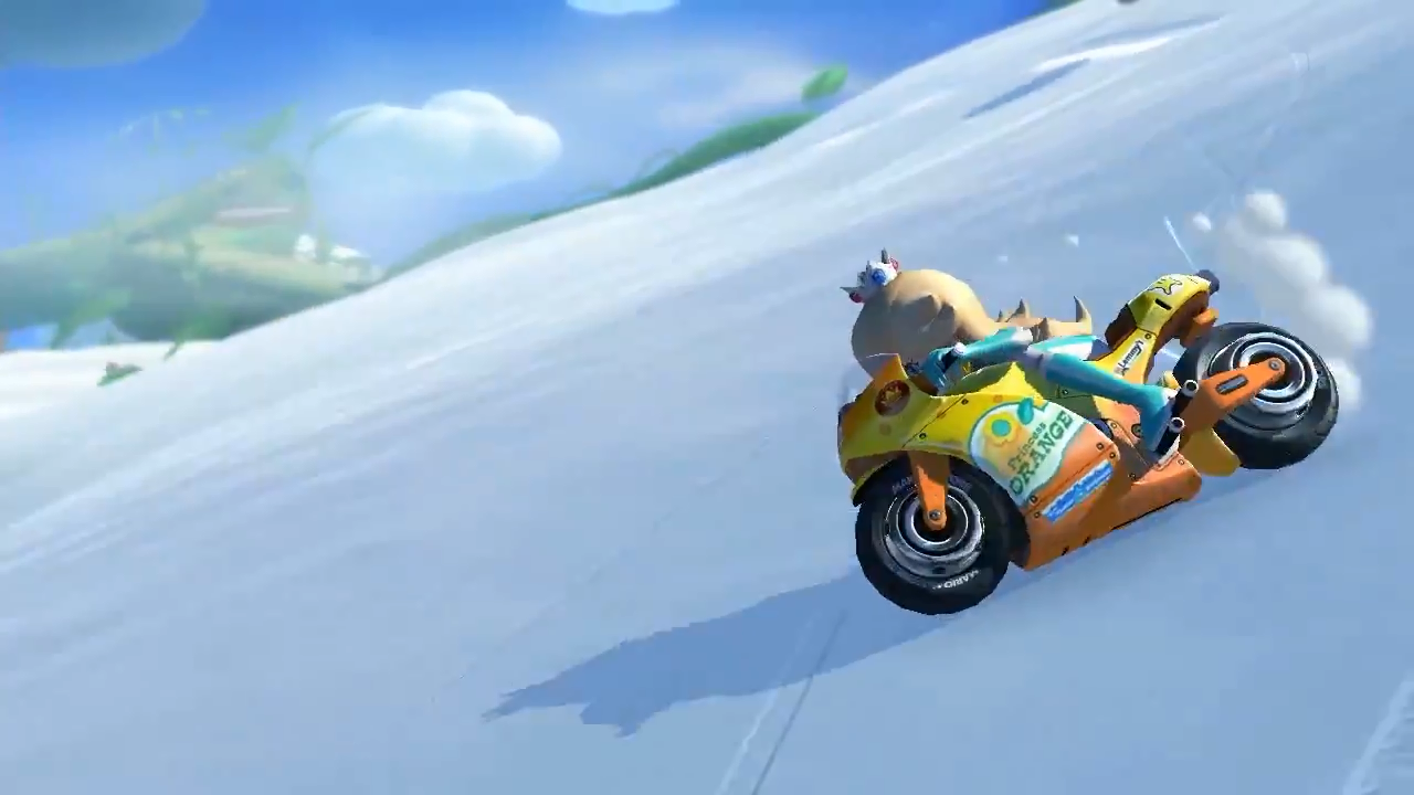 Mario Kart 8 nuevo trailer Rosalina Wii U