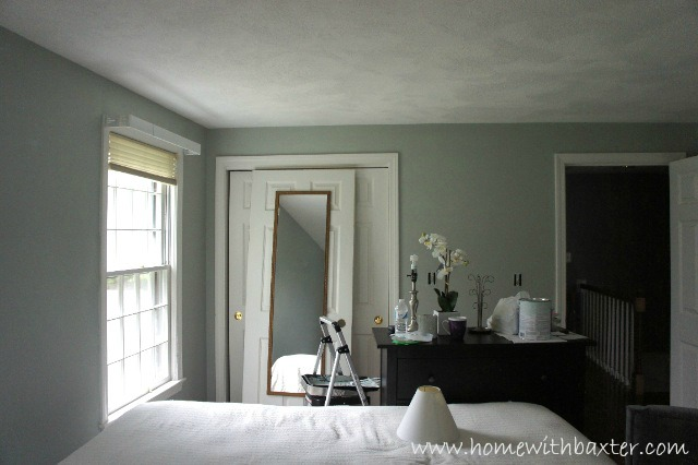 Home with baxter painting is fun when you pick the right Sage paint color benjamin moore
