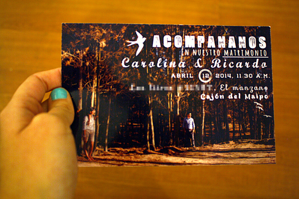 handmade wedding-invitations-chile