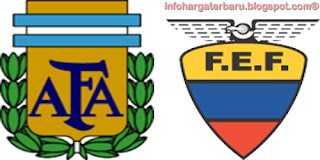 Hasil Skor Argentina vs Ekuador | Pra Piala Dunia Minggu 3 Juni 2012