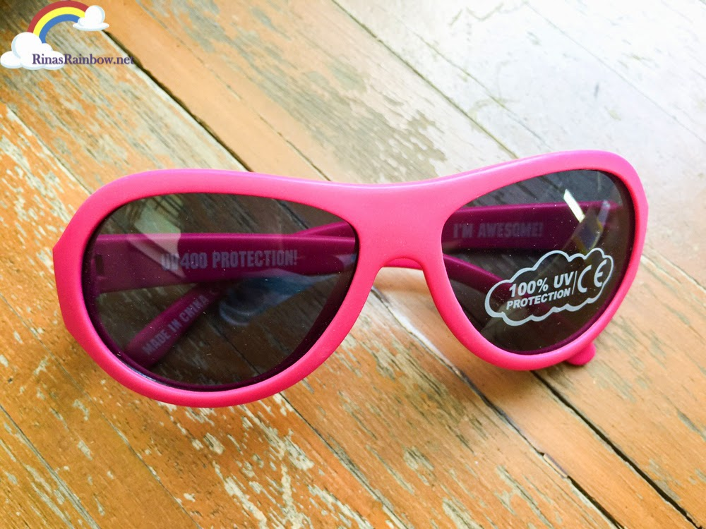 Pink Babiator shades
