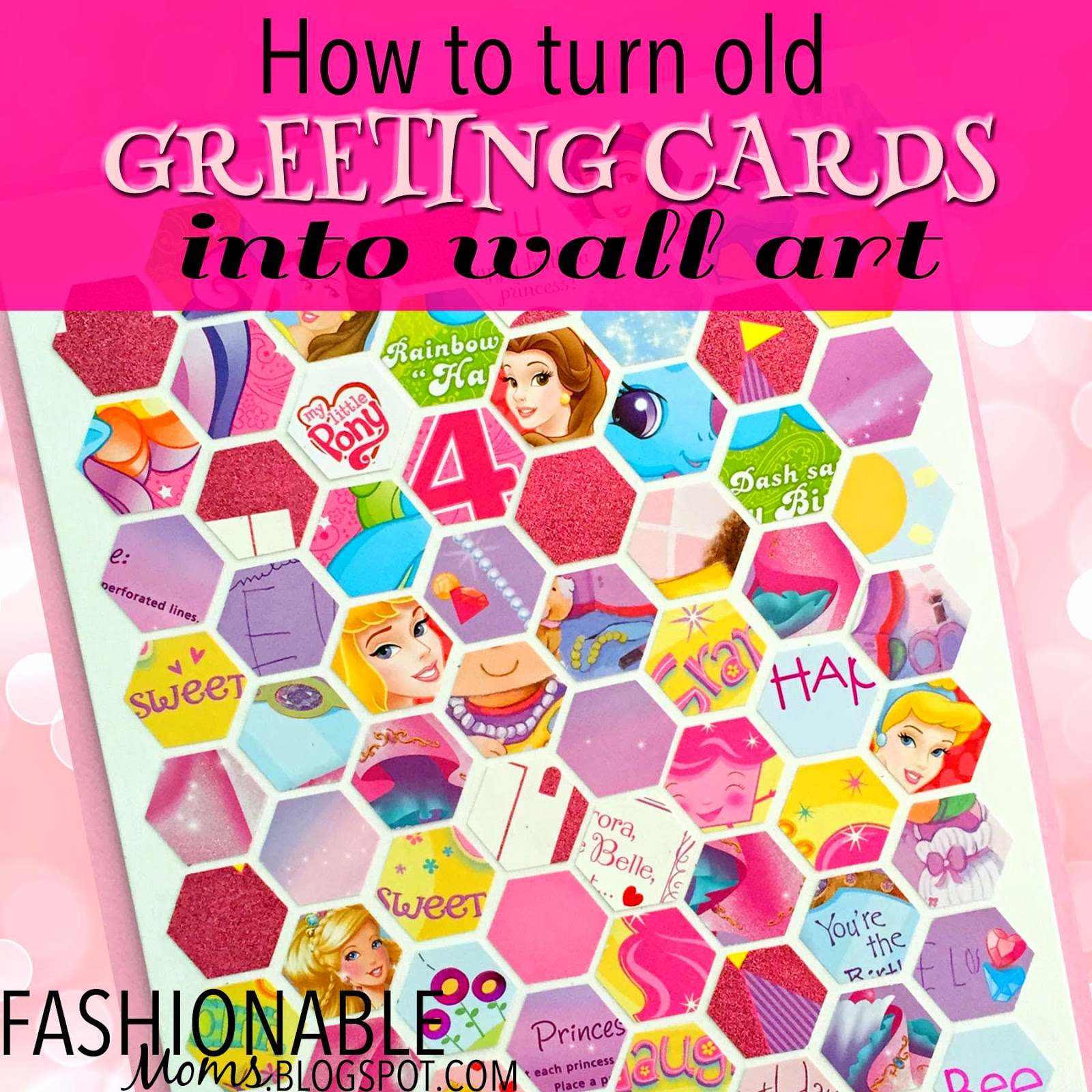 My fashionable designs how to turn old greeting cards into wall art how to turn old greeting cards into wall art kristyandbryce Images
