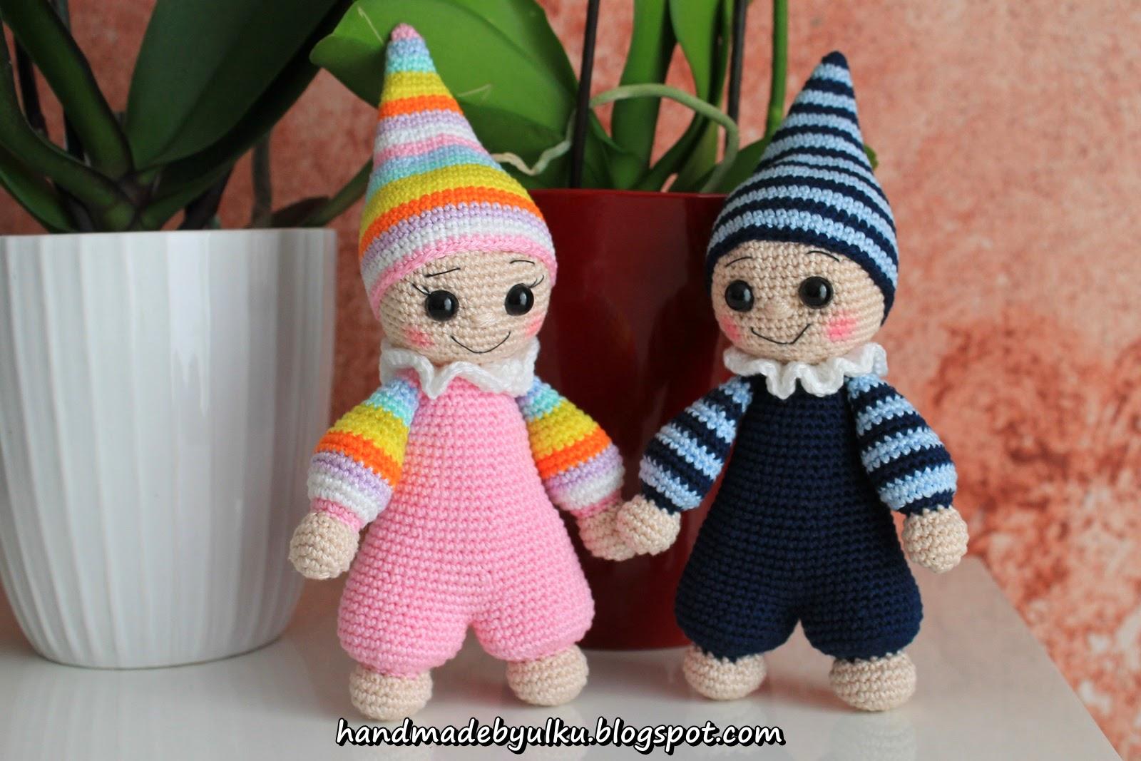 Amigurumi Cuddly Baby : Handmade by ulku: Amigurumi Zwerg / Cuddly Baby / Cuce