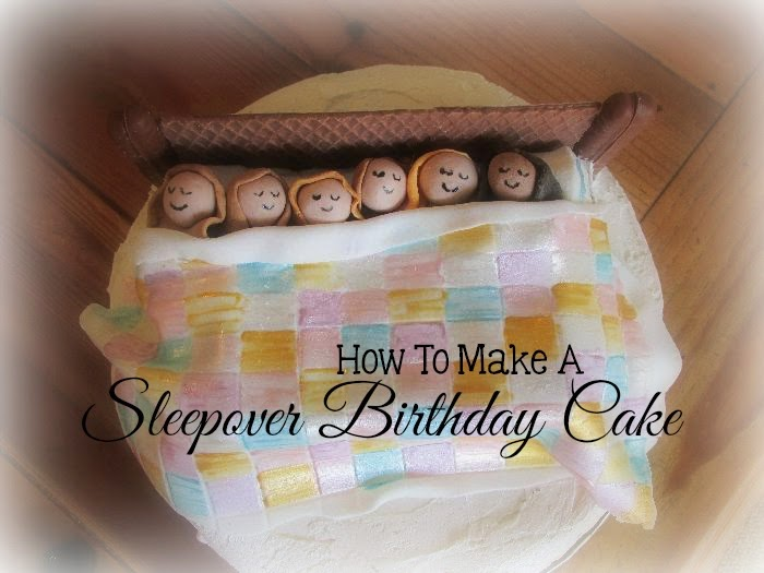 Great Fun etc: How to Make a Sleepover Birthday Cake (step ...