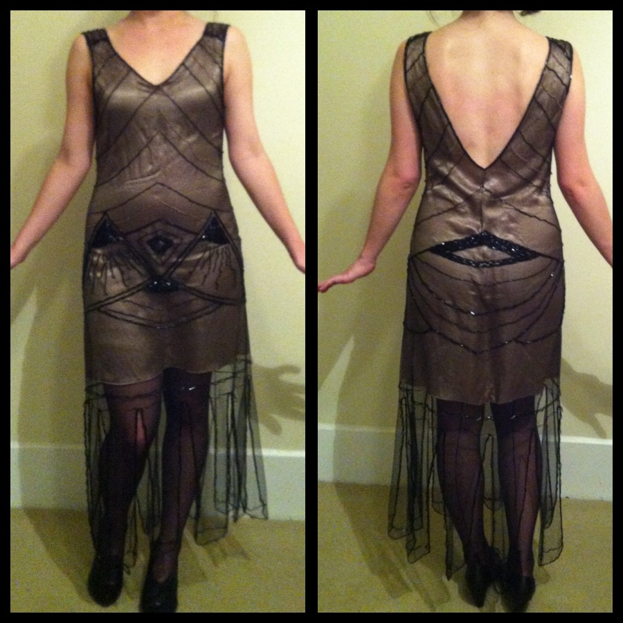 Gallery For > Diy Flapper Dress Tutorial