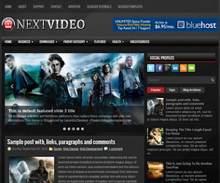 NextVideo-Blogger-Template