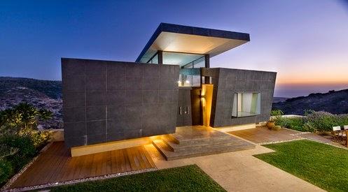 Fachadas de casas contemporaneas fachadas de casas for Decoracion exterior jardin contemporaneo