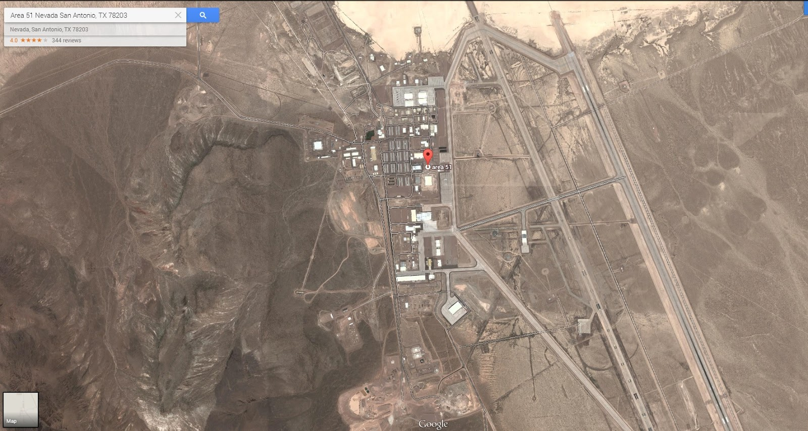 Area 51 is real! Learn how to search online ~ Dalimara ...