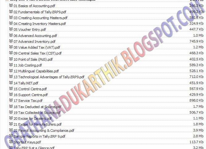 Tally ERP9 குறுக்குவழிகள் அடங்கிய முழு PDF ஆங்கில புத்தகம் தரவிறக்கம் TALLY-bmp+copy