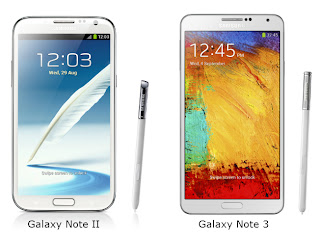 Samsung Galaxy Note 3 vs Galaxy Note II