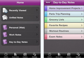 Microsoft OneNote iPhone app available for download via iTunes