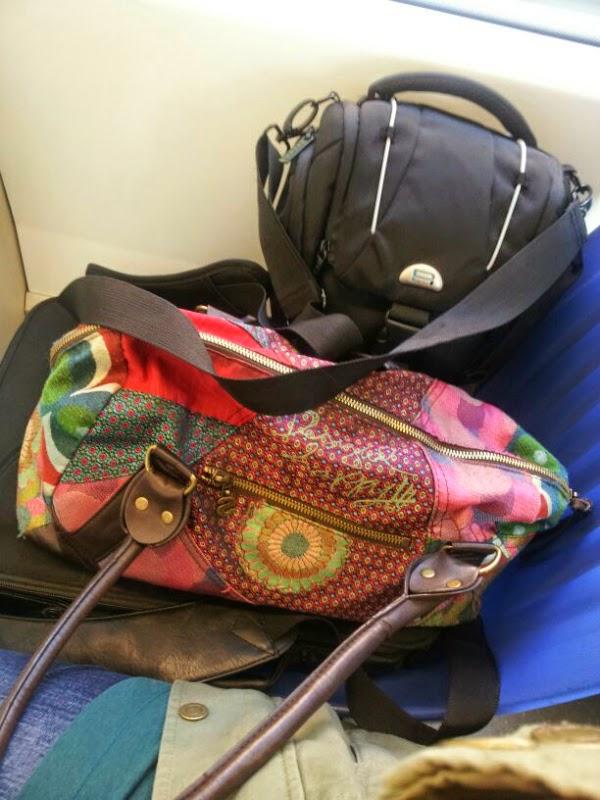 Bahn fahren mit Gepäck