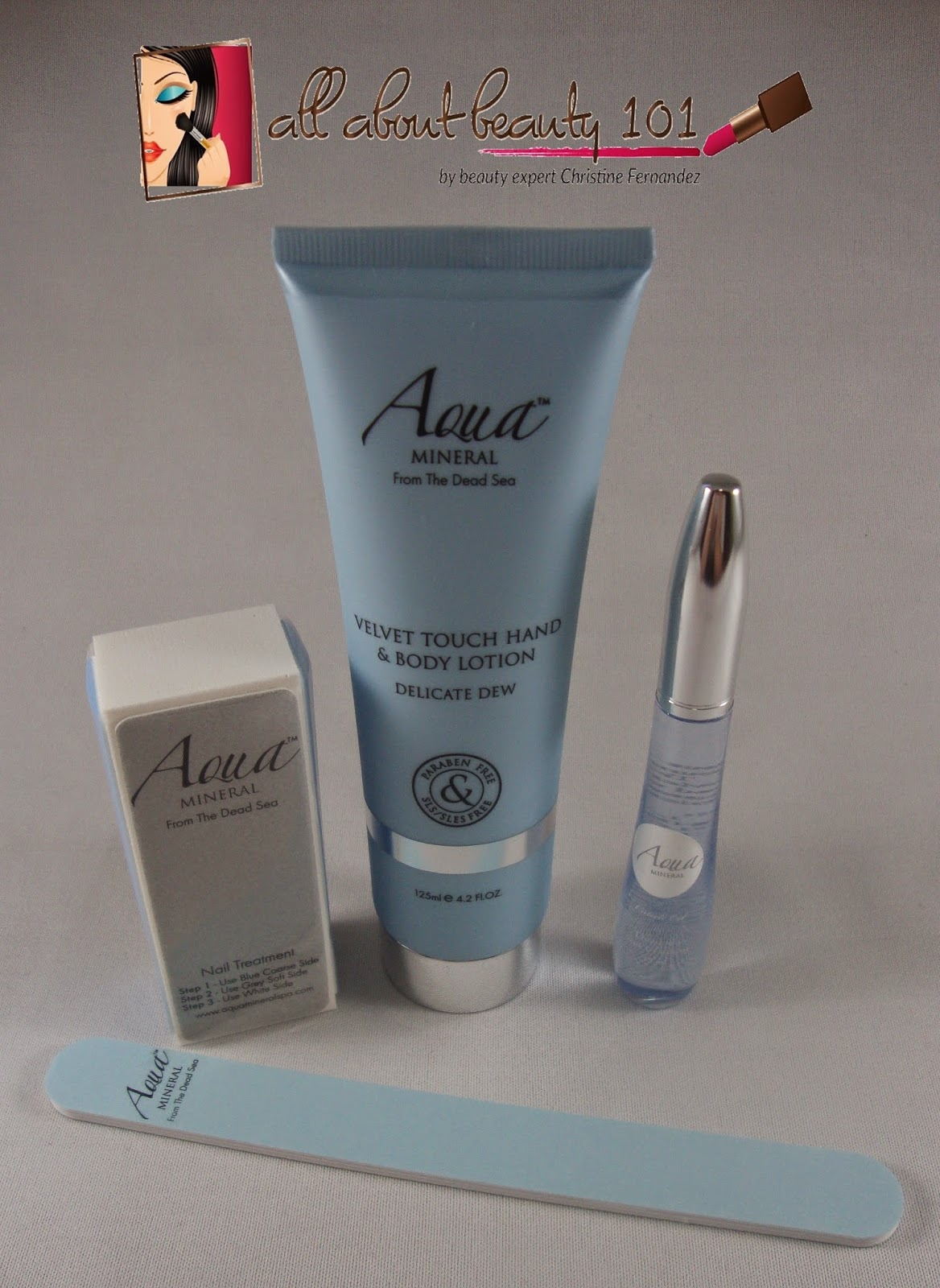Aqua Mineral: Professional Nail Kit   All About Beauty 101
