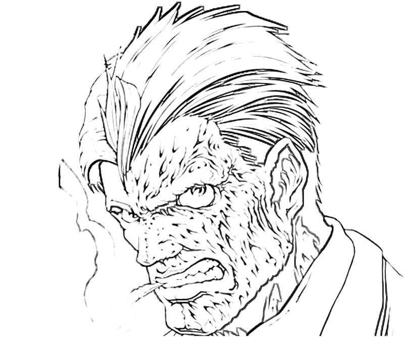 printable-batman-arkham -city-two-face-character-coloring-pages