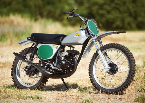 Racing Caf U00e8  Honda Cr 125m Elsinore 1974