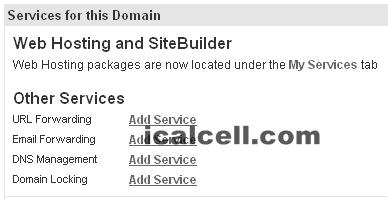 DNS Managemen Add Service