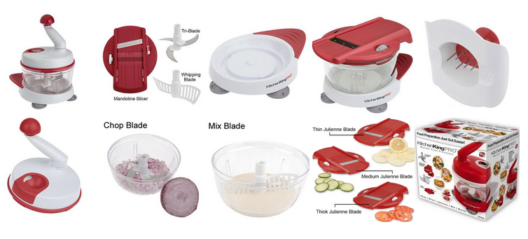 Right Now On 13 Deals.com You Can Grab This Kitchen King Pro For Only  $19.99 Shipped To Your Home (Retail $34.99)! If You Like To Cook This Makes  Your Food ...