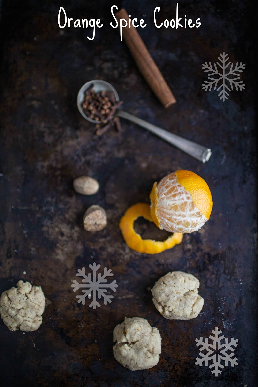 Shortbread 12 Ways: Orange Spice Cookies