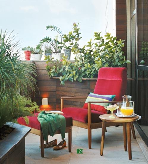 ideias jardim varanda:Bricolage e Decoração: Ideias para Decorar a Sua Varanda Pequena