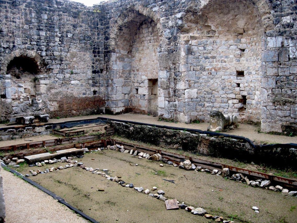 Turquía, Mileto, termas de Faustina