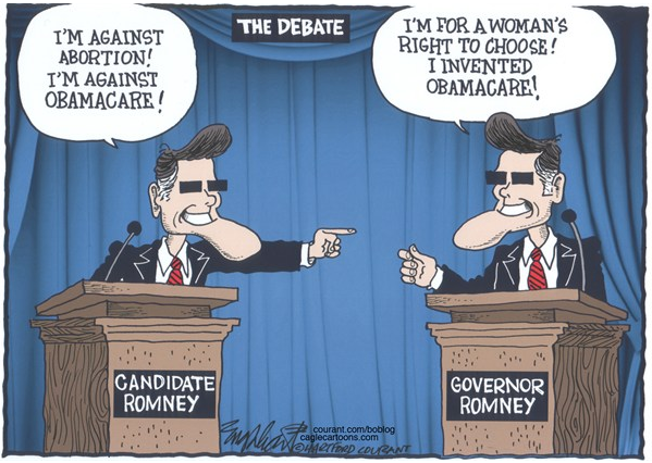 Mitt Romney, Political Cartoon, funny 2012