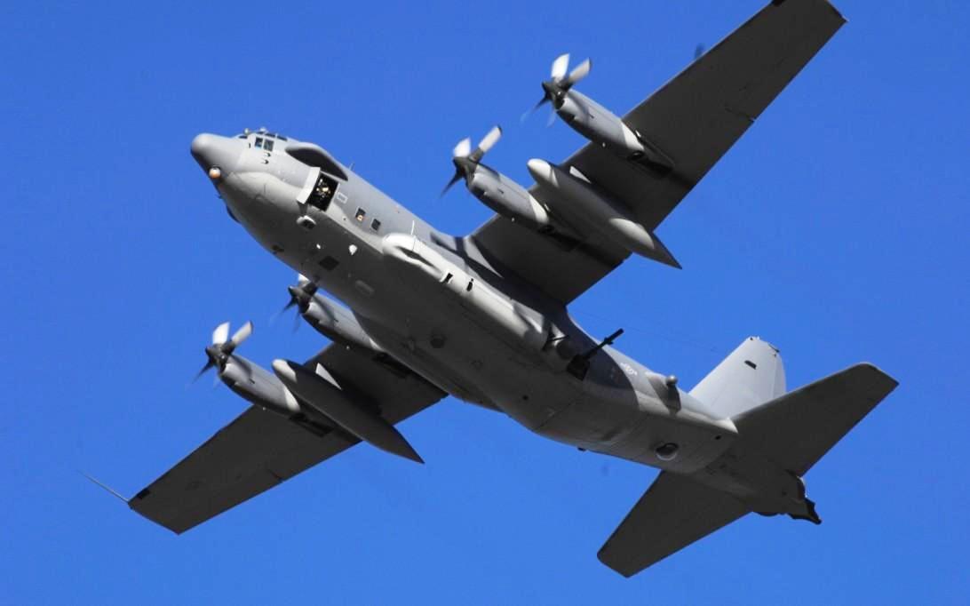 AC-130 Spectre Aircraft Wallpaper 2