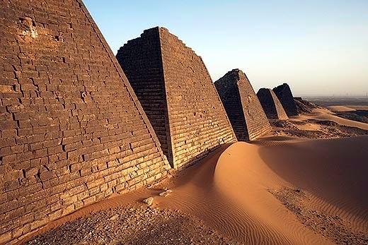 Penemuan Piramid di Sudan