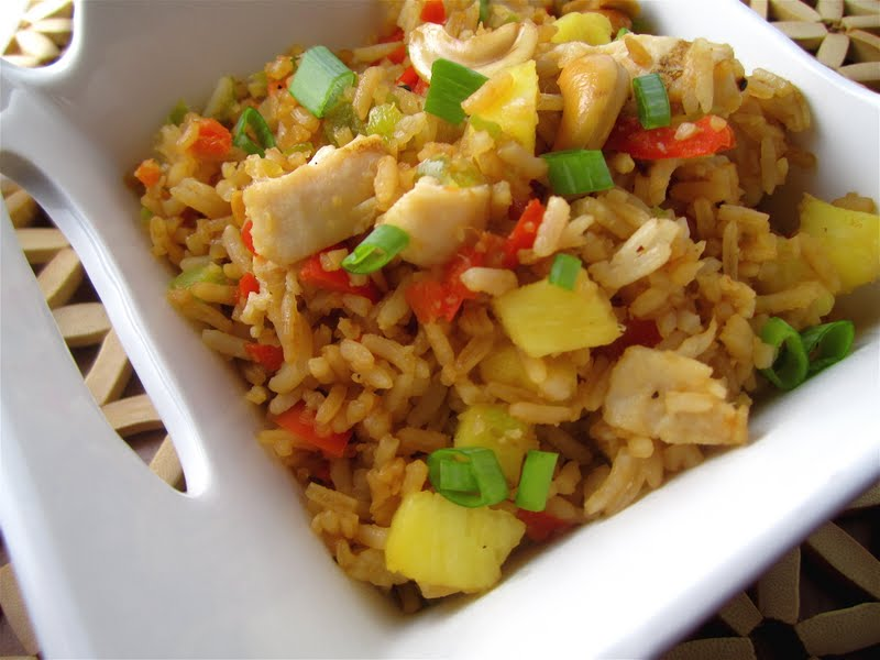 Stephanie Cooks: Pineapple Fried Rice