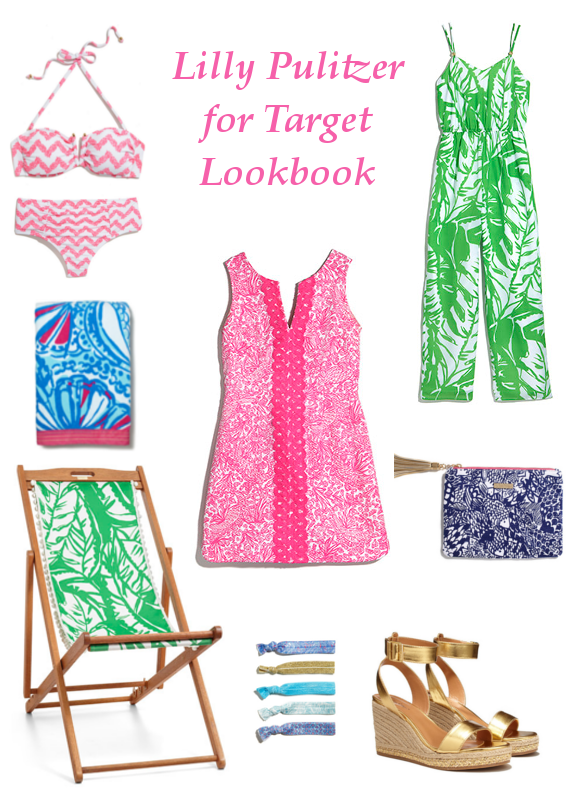 Lilly Pulitzer for Target Anchors and Pearls