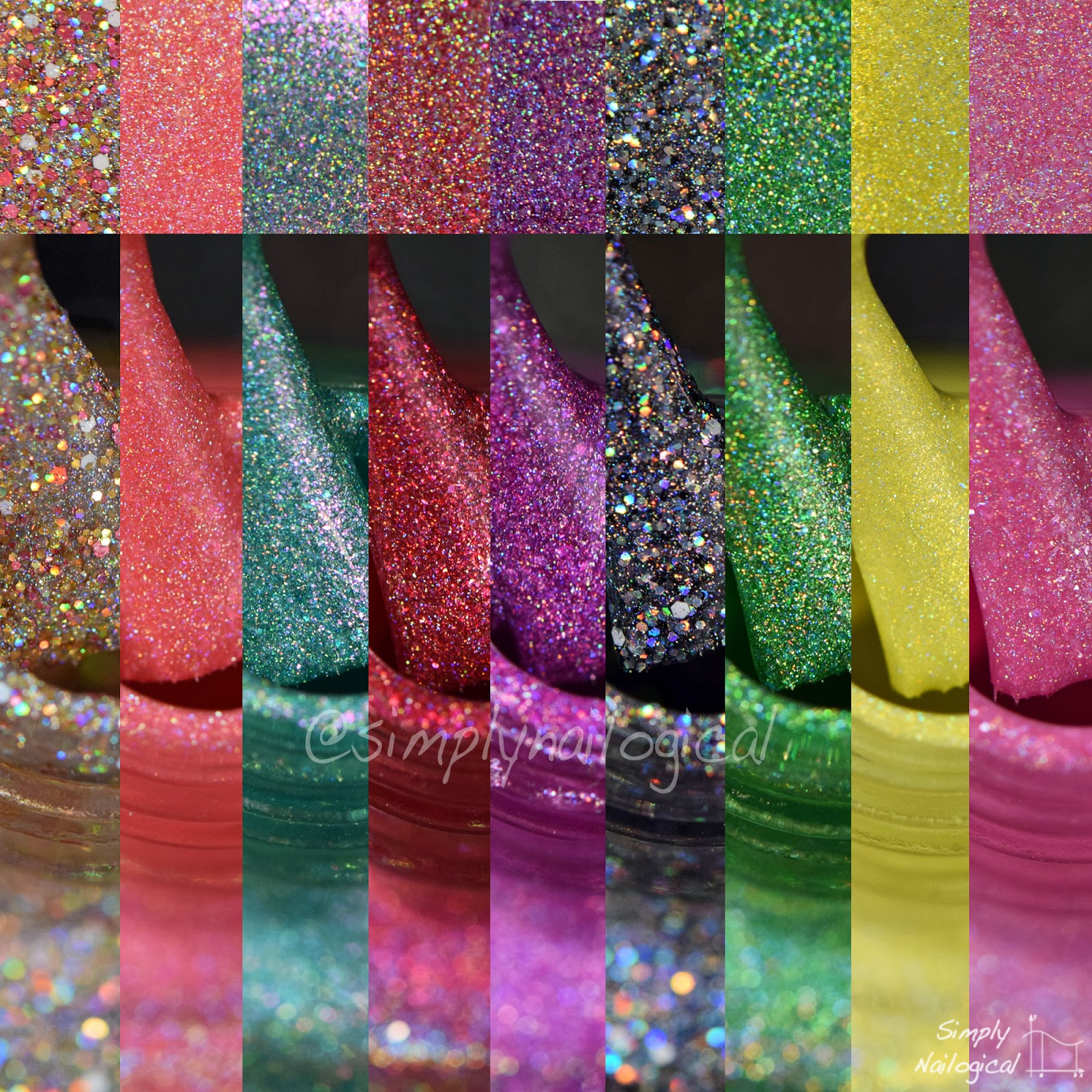 Simply Nailogical: Glam Polish\'s 2015 Hairspray Collection
