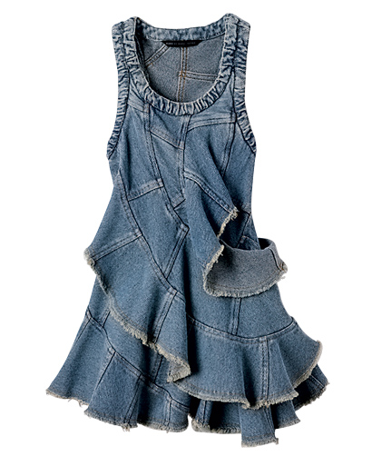 Lastest Summer 2015 New Women Straps Denim Dress Preppy Style Blue Jeans Overall Dresses Fit And Flare ...
