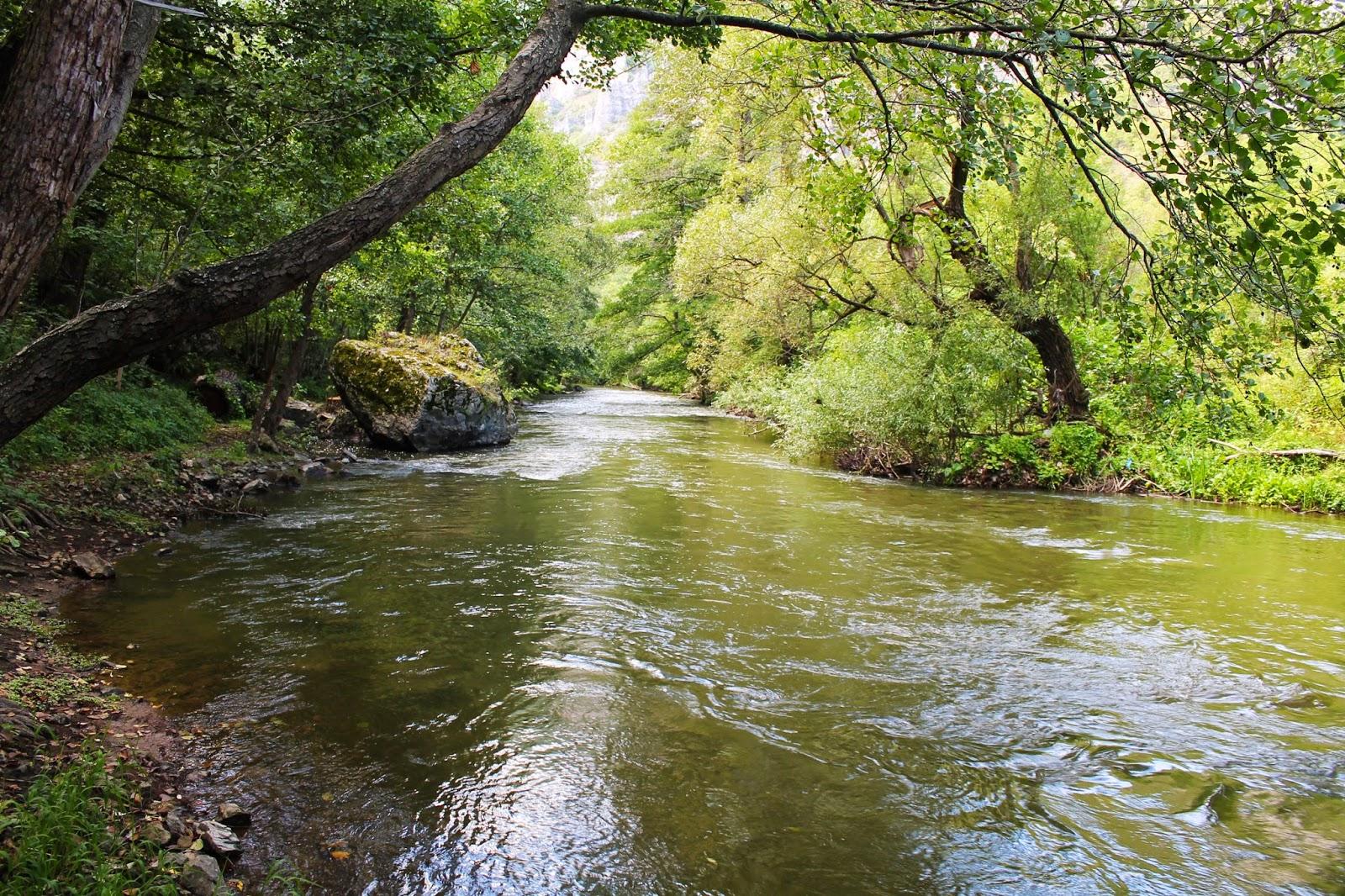 река Струма в Земенския пролом