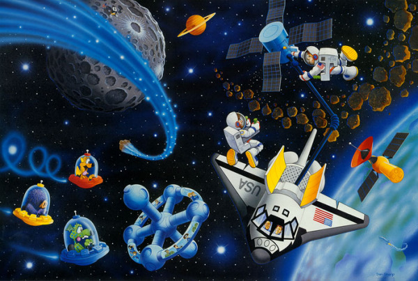 Imagenes del espacio para imprimir - Dibujos infantiles del espacio ...